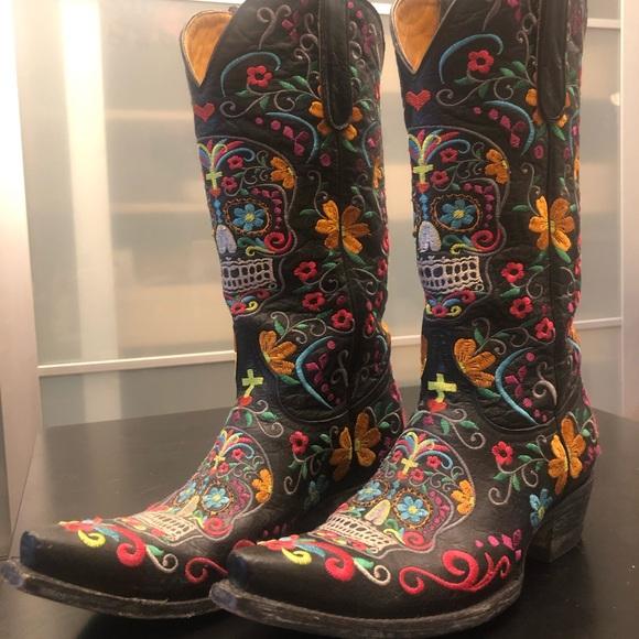 2c7648c000b Old Gringo Klak Boots- size 9. Worn once!